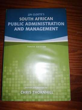 Public Administration and Management