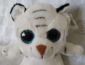 Pre-loved Imported Very Cute White Tiger Plush Toy