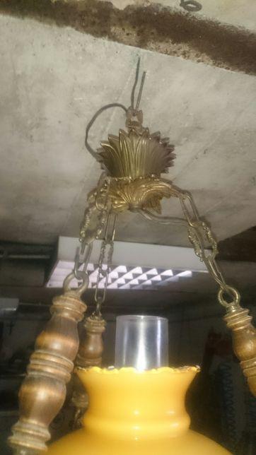 lampa - żyrandol lampa naftowa wisząca Międzyrzec Podlaski - image 5