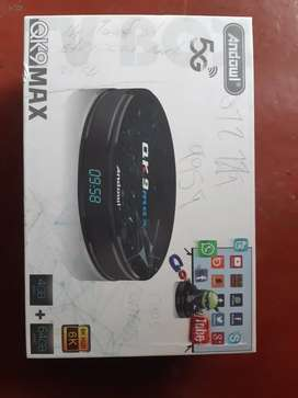 QK9 MAX TV BOX 5G WORKING PERFECTLY