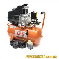Компрессор LEX LXC 24 (24 л ресивер) Гарантия 1 год!!!