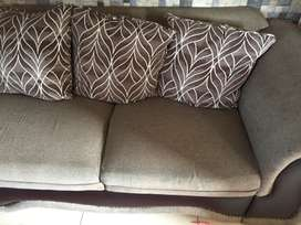 Grey second hand couches