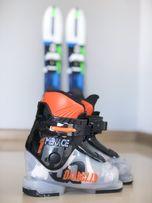 Narty dziecięce DYNASTAR 68 plus buty narciarskie rozm 26