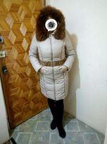 Продам зимний пуховик