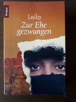 """""""Zur Ehe gezwungen"""" Leila książka w języku niemieckim"""