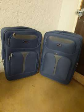 marco soft case luggage  20inch Blue R400 each White River  Brand New