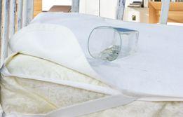 Непромокаемый наматрасник в детскую кроватку, мембрана