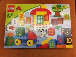 Lego Duplo 5497 zestaw z cyferkami Warszawa