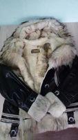 Зимняя куртка-дубленка.