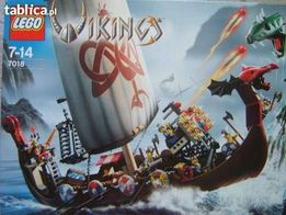VIKING LEGO 7018 STATEK zestaw klocki zamek rycerz figurka PREZENT Wwa