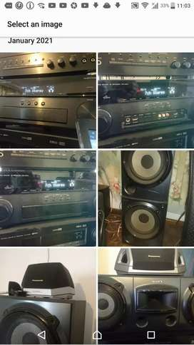 MASSIVE POWERFUL HOME ENTERTAINMENT SOUND SYSTEM