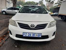 2012 Toyota Corolla Professional 1.6 with leather seats