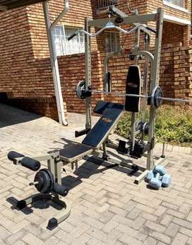 Trojan Power Cage with 72kg weights