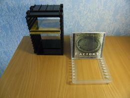 Полки для компакт-дисков или видеокассет