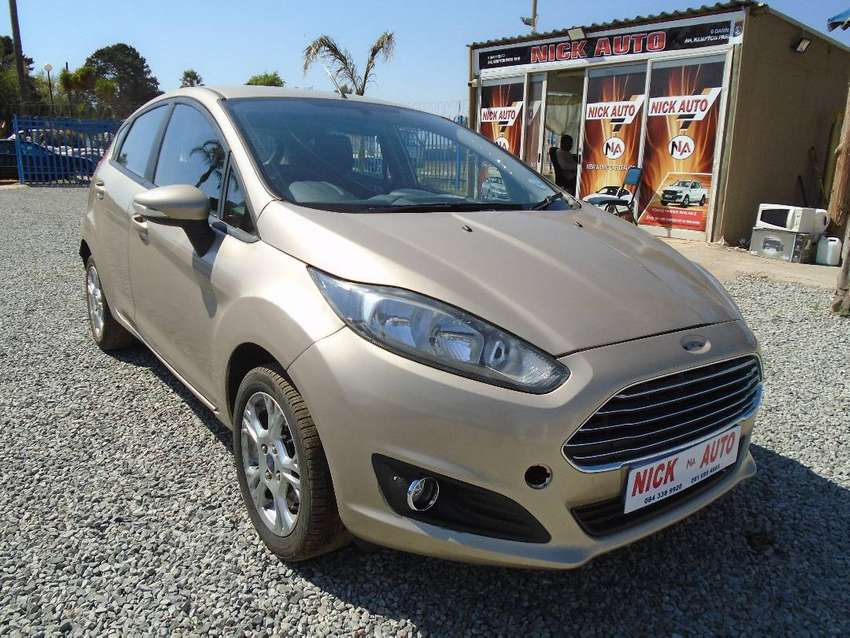 2016 ford fiesta 1.4 ambiente with 83000km