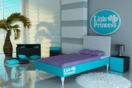 Łóżko dziecięce,łóżko dla dziecka niskie z materacem w zestawie.Raty