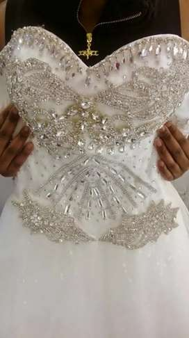 Wedding gown and dresses