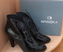 Ботильоны женские кожаные BRASKA Новые!