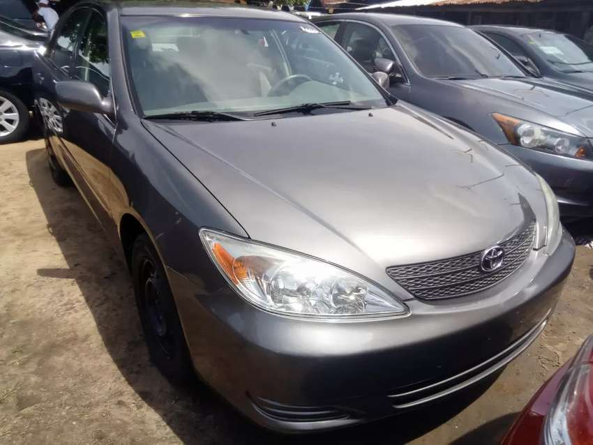 Tincan cleared tokunbo Toyota Camry le very sharp 0