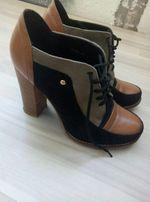 Ботильоны ботиночки туфли в идеальном состоянии