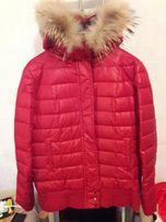 "Продам куртку пуховик женский "" Mango"", размер L"