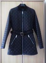 Nowa czarna kurtka