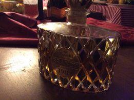 Порожній графін хрусталь покрит золотом 24К из под брєнді