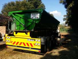 34 ton side tipper trailer to rent