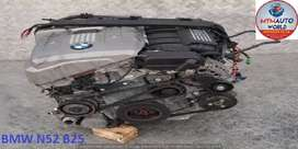USED ENGINES BMW E60/E90 6 CYLINDER DOHC 24V N52 B25 6HP19/6 FOR SALE