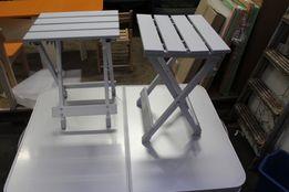 Стол складной и 2 стула - набор мебели для пикника на 2 персоны