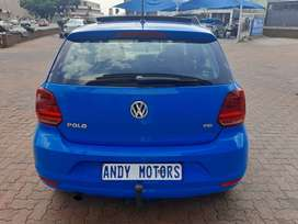 TESTED AND USED 2015  VW POLO TSI  WITH SURNROOF