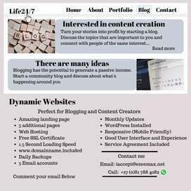 Websites and Web Development