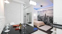 Современная квартира-студия с дизайнерским ремонтом