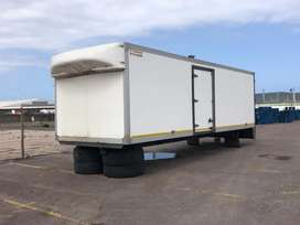 8m insulated van body for sale