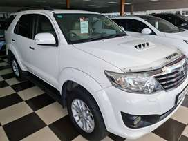 -2013 Toyota Fortuner 3.0 D4D 4x4 Manual-Only 211000km-R299900