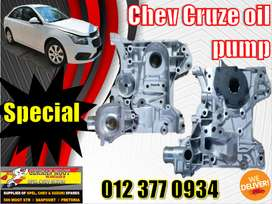 Chev new and used spares\parts-Cruze 1.8 oil pump