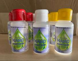50ml LIQUID HAND SANITIZERS FOR SALE R9.