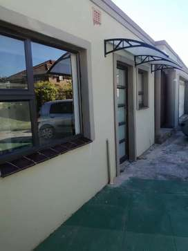 One bedroom garden flat, gated parking, secure, private