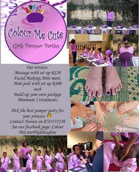 Mobile Pamper Parties