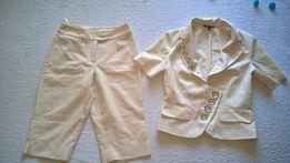 Костюм тройка для школы блузка в подарок