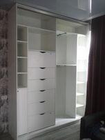 Встроенный шкаф-купе, гардероб. Расчет цены и консультация по телефону