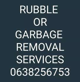 RUBBLE AND GARBAGE REMOVAL