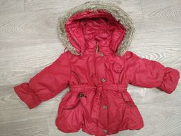 Куртка пуховик термо Wojcik 86+6 зимняя красна бордовая в идеале lenne