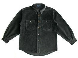 Вельветовая рубашка KSY. Р. 155 см. ворот 33. сорочка теплая школьная