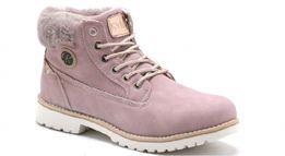 Nowe buty damskie traperki trapery Kylie Crazy kolor różowy rozmiar 39