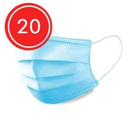 3 Ply Disposable Medical Face Mask – 20 Pack