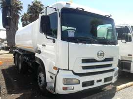 NISSAN UD460 WATER TANKER 16000L WITH HYDRAULIC PUMP