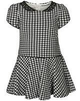 Платье Mayoral черно-белое клетка, школа 116 рост 6 лет