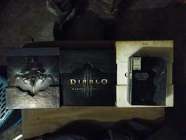 Diablo sets with books and sealed game disks