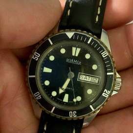 Roamer Divers Look day and date Quartz Watch.